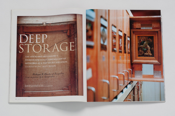 METRO MAGAZINE-FEATURE ON AUCKLAND CITY ART GALLERY