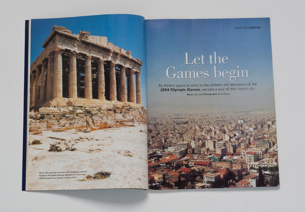 AIR NEW ZEALAND MAGAZINE-ATHENS