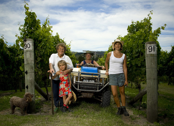 HASLAM FAMILY-TI POINT WINERY