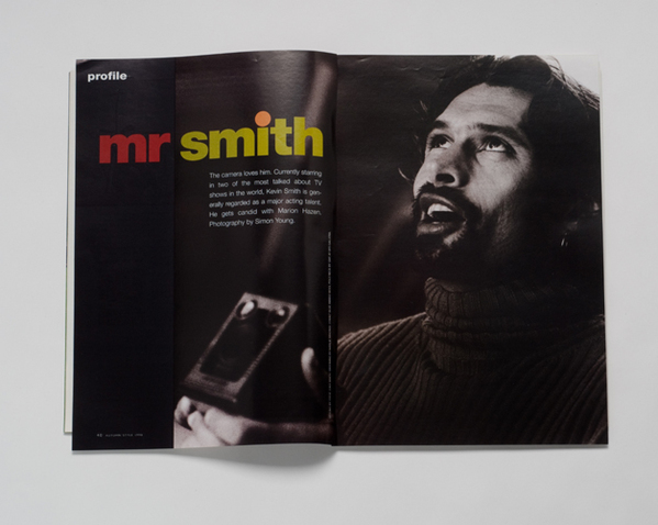 STYLE MAGAZINE-KEVIN SMITH