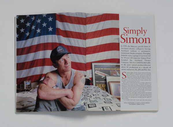 NORTH & SOUTH MAGAZINE-SIMON PRAST